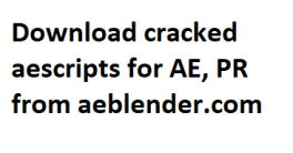 16 aescripts bundle for after effects MAC Crack Download