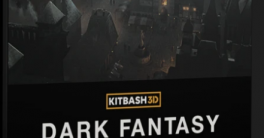 KitBash3D Dark Fantasy Models Full Crack Download aeblender.com