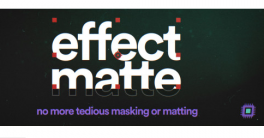 aescripts Effect Matte 1.3.1 Crack Download 2020 aeblender.com