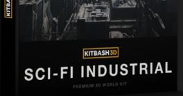 Kitbash3D Sci-Fi Industrial Crack Download