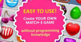 Unity3D Match 3 Sweet Sugar v1.3.3 Crack Download