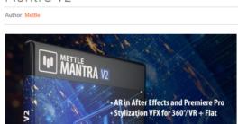 aescripts Mettle Mantra 2.0 Mac Crack Download